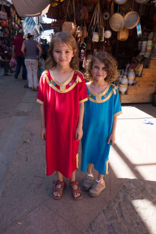 Unsere Marokko-Mädchen